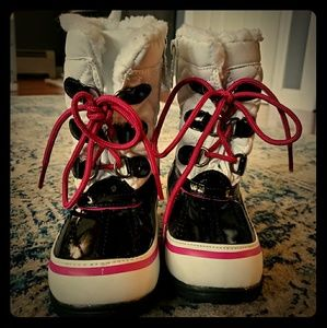 Toddler girls totes snow boots
